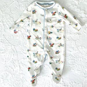 Baby Boden | Spring Pattern Footie 🦆🐥🌸